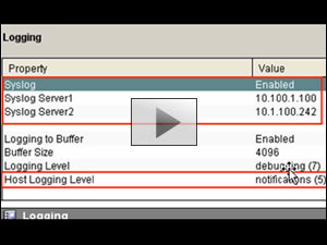Configuring Syslog Server On Cisco Routers With SDM